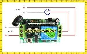Image 3 - Беспроводной пульт дистанционного управления, 3000 м, 12 в пост. Тока, 1 канал, 10 А, передатчик, светильник для обучения, 315433 МГц