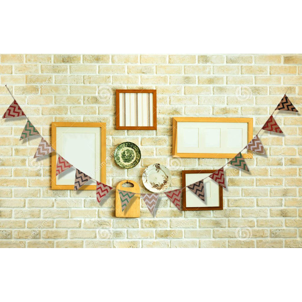 Pennant Banner Waves Triangle Linen Flag Decoration Hanging Flag for ...