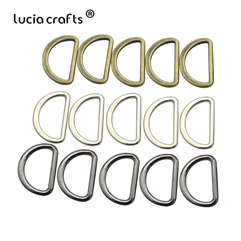 Buckles Bags Sewing-Accessories Metal-Crafts Ring-Connect DIY Materials G1208 20mm/25mm-Alloy