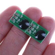 2 шт. Новинка 15,4*11,4 мм DC2.2V-5.5V сенсорный кнопочный модуль Конденсатор Тип инчинг/защелка сенсорный переключатель сенсор