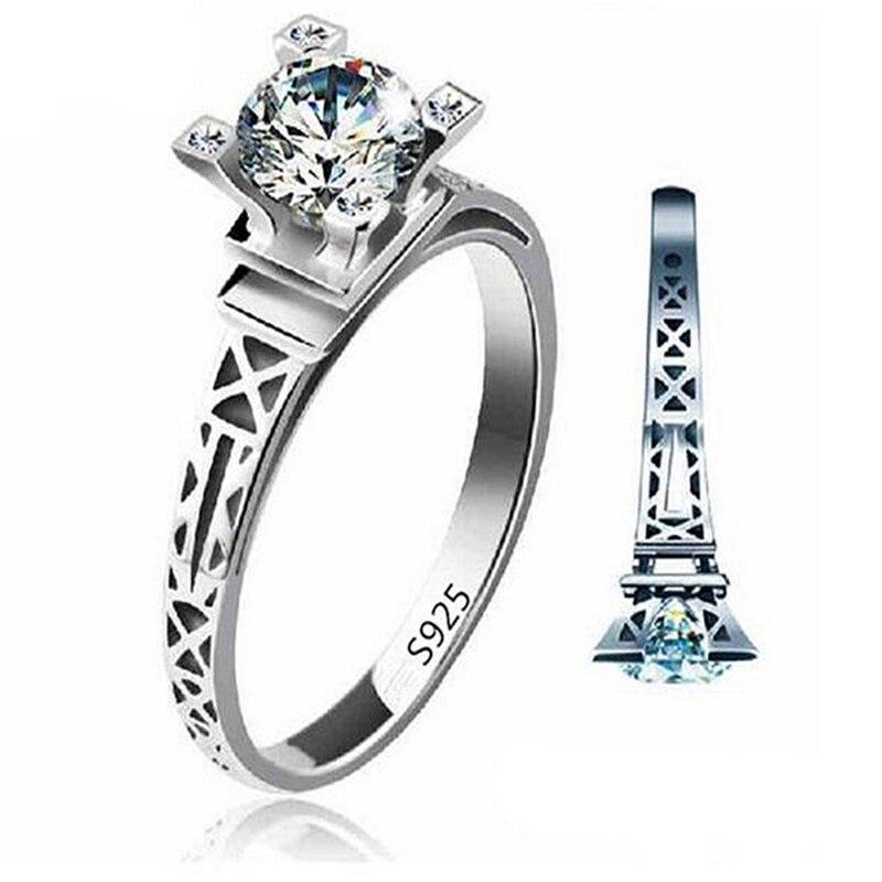 Online Get Cheap Eiffel Tower Wedding Ring Aliexpresscom