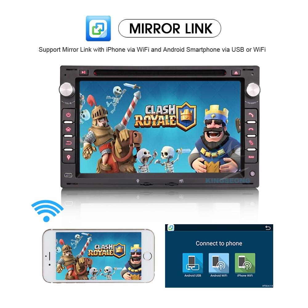 Android 7.1.2 Car DVD Player GPS Navigation DAB+ Radio 3G WIFI OBD ...