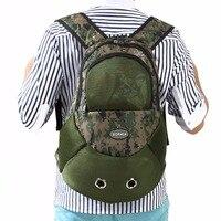 Pet Dog Outdoor Travel Bag Backpack Front Back Rabbit Cat Mesh Carrier Pet Product Supplies