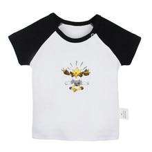 9050d738 Pokemon Alakazam Beedrill caterpie Chansey Dragonite Dratini Ditto Newborn  Baby T-shirts Toddler Graphic Short
