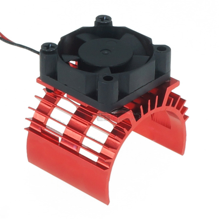 3650 <font><b>Motor</b></font> Electric Machinery Special-purpose 1:10 Tram <font><b>540</b></font> <font><b>Motor</b></font> with <font><b>Fans</b></font> Radiator Heat Sink for RC hobby image