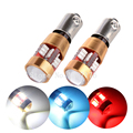 Auto Canbus BA9S T4W BAX9S H6W BAY9S H21W 3014 27 SMD White 12V Car side wedge door clearance Marker Rear Reverse lamp bulb LED.