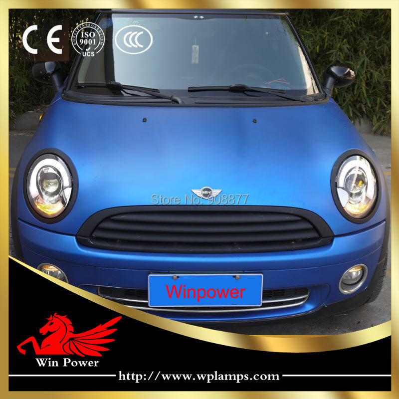 Win Led Headlight For 2007 2017 Bmw Mini Cooper R55 R56 High End Cl In Car Light Embly From Automobiles Motorcycles On