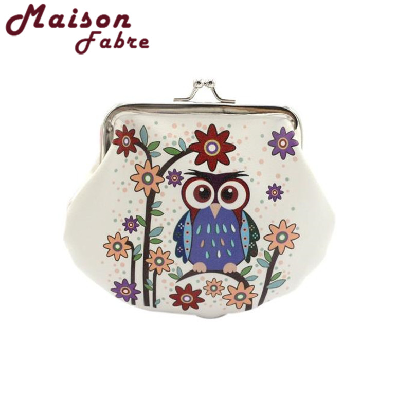 Maison Fabre coin purse women Lady Retro Vintage Owl Small Wallet Hasp Purse Clutch Bag Dec16