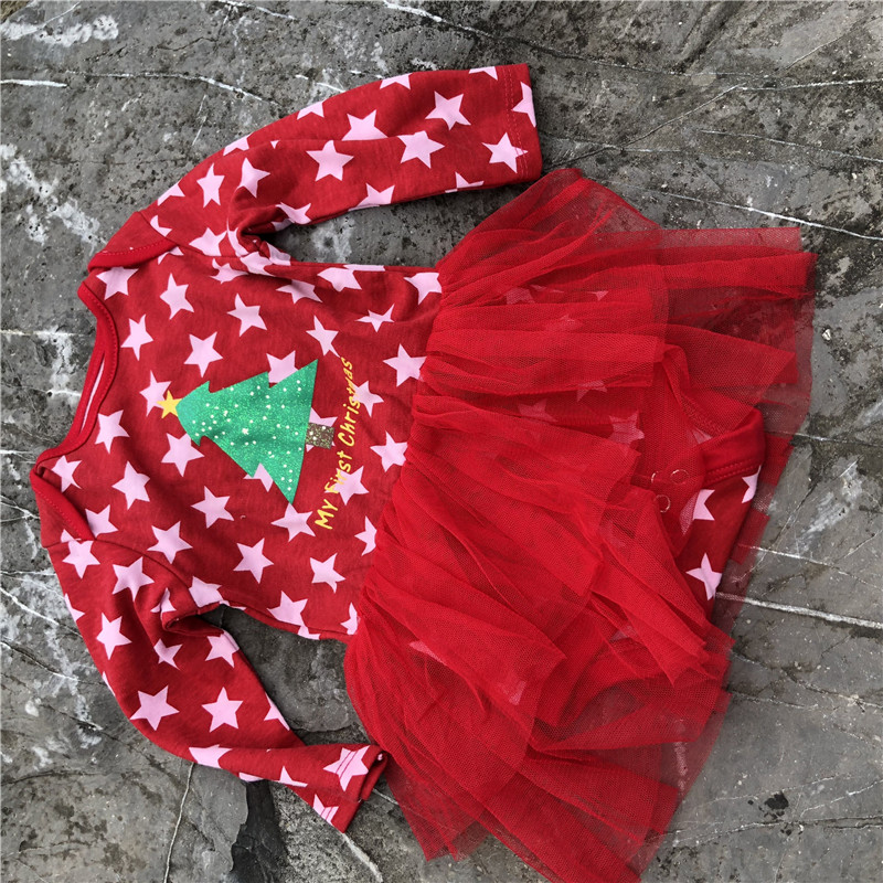 Christmas   rompers   baby   romper   baby clothes newborn for children for newborns new years gift xc029-Y