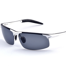 2017 men's aluminum-magnesium car drivers night vision goggles anti-glare polarizer sunglasses Polarized Driving Glasses A8177