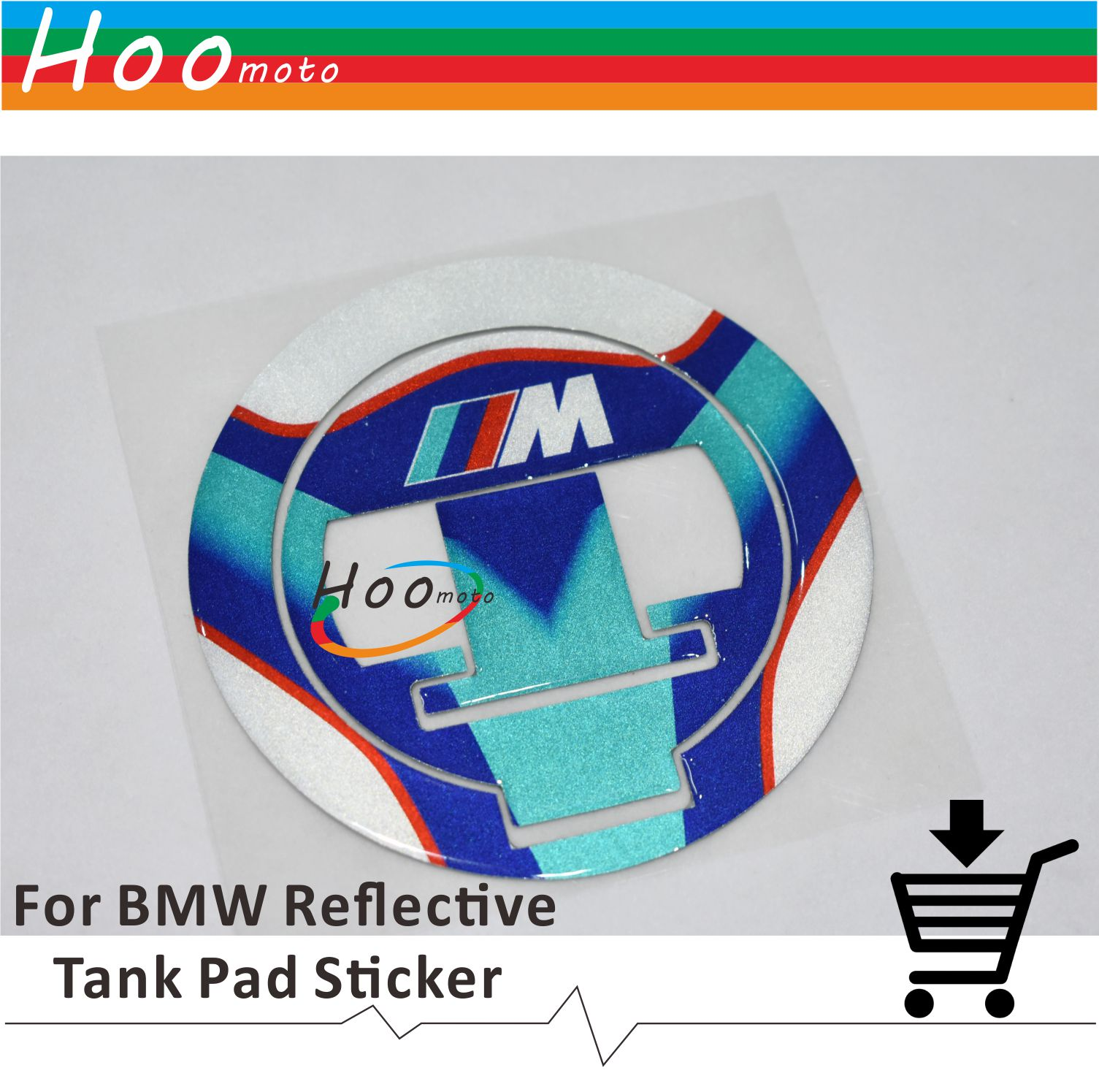 For BMW R1200GS 13 S1000XR 15 16 R1200RT 14 15 Motorcycle Accessories 3D  Cap Tank Pad Tankpad Sticker Protector Reflective