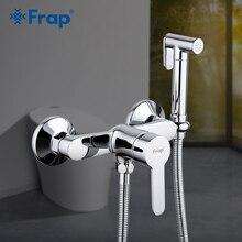Frap ก๊อกน้ำ Bidet ทองเหลืองห้องน้ำ TAP Bidet ห้องน้ำก๊อกน้ำ Bidet เครื่องซักผ้าผสมมุสลิมฝักบัว hygienic ฝักบัว F2041