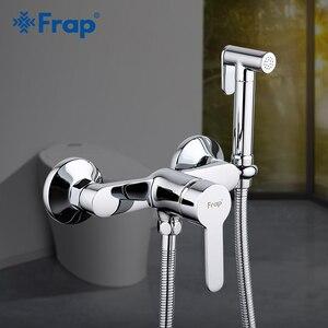 Image 1 - Frap grifos de bidé de latón para baño, grifo de ducha para bidé, rociador de Bidet, mezclador de ducha musulmán, ducha higiénica F2041