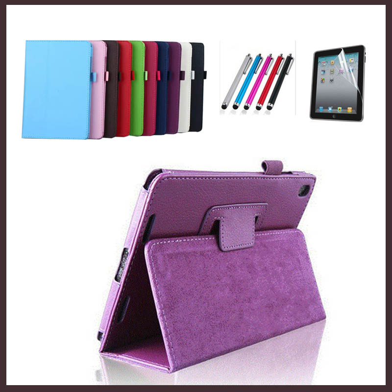 2017 new Cover Case for Xiaomi Mipad 3 Mi Pad 3 PU Leather Tablet Case for Xiaomi MiPad 2 Mi Pad 2 Funda 7.9 Capa Para+Film+Pen