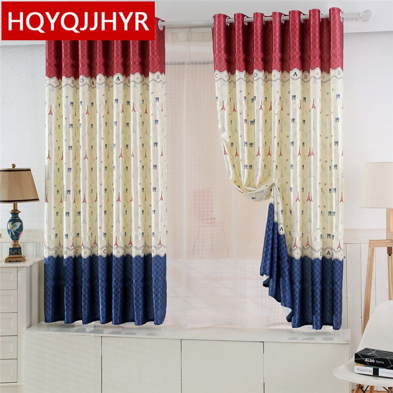 19 Models Specials Short Pastoral Semi Shade Curtains For Living Room  /Kitchen /Bedroom /Window Short Curtains Custom Finished