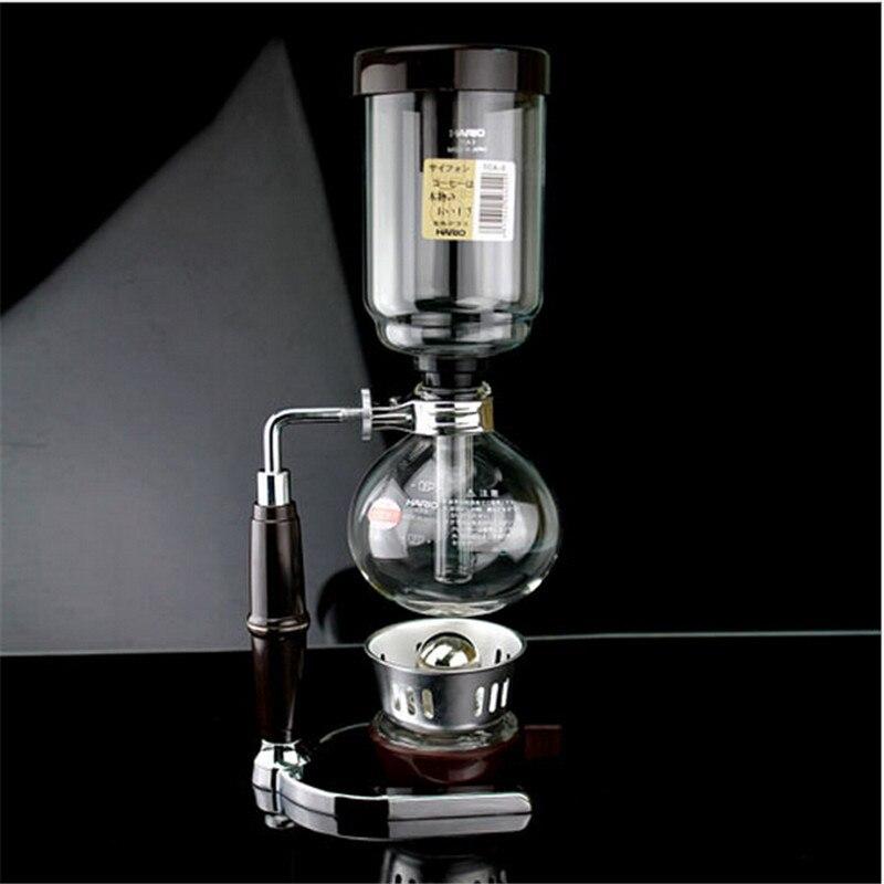 3/5 tasses Hario Siphon maker/Japon style Siphon machine à café/Thé Siphon pot Syphone café maker style japonais Siphon pot 2/3/5cu