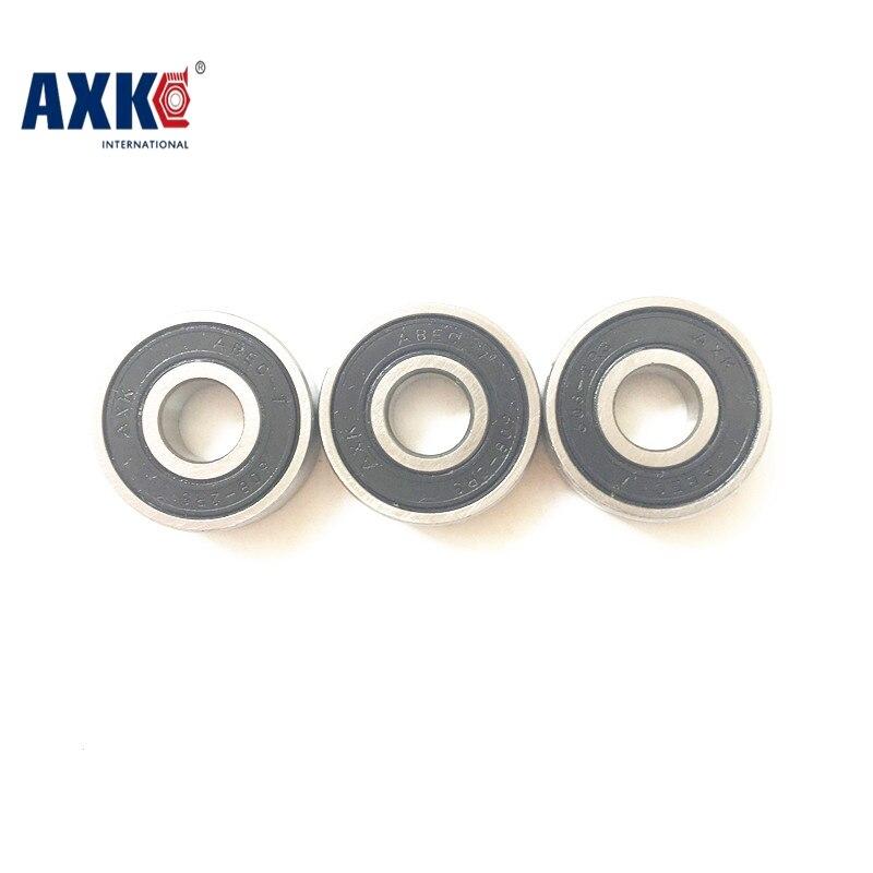 цены Free Shipping 608 ceramic bearings 22*8*7mm 2pcs/lot S608 2RS bearing CB T9H ABEC-7 Stainless steel hybrid ceramic ball bearings