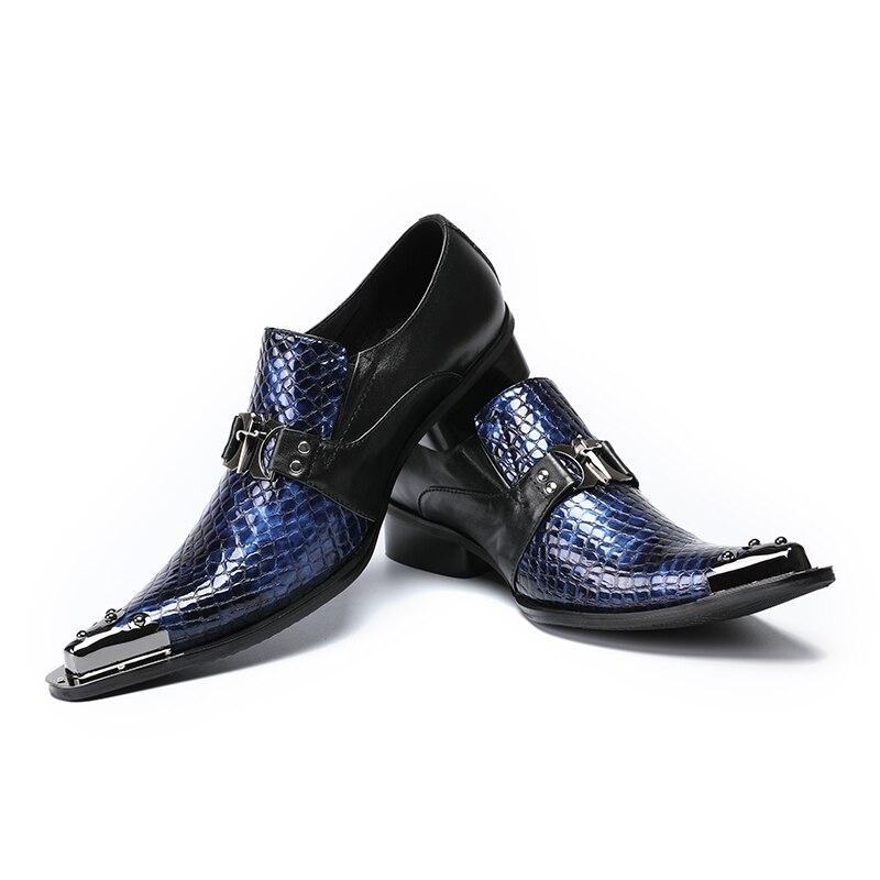Lujo De Boda Cuero Diseño Hombres Toe Vestido Bares Discoteca Trabajo Del Señaló Genuino Carrera 1 2 Moda Zapatos Mocasines Slip En qOSwqx0z