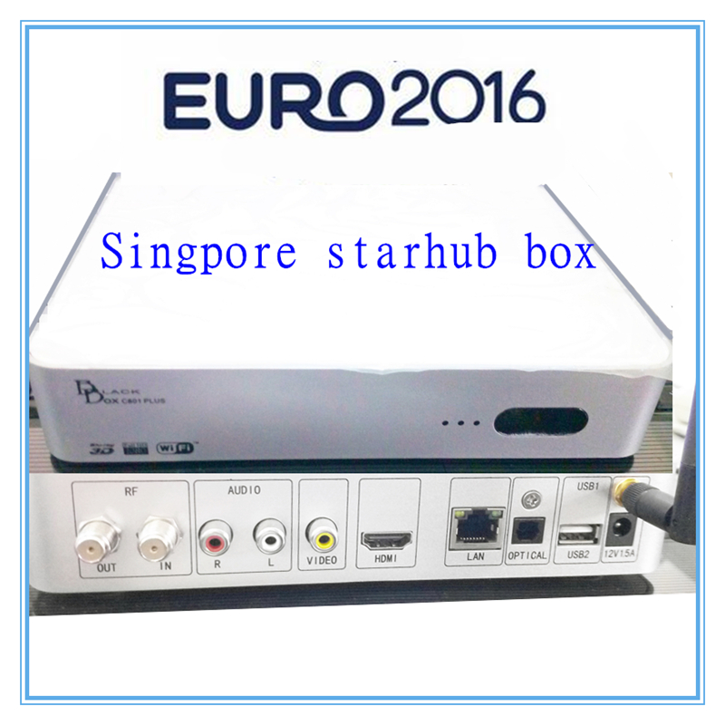 starhub box singapore hd blackbox c801 free 2017 Europ Sport and HD channels with WIFI xdevice blackbox 48 в новосибирске