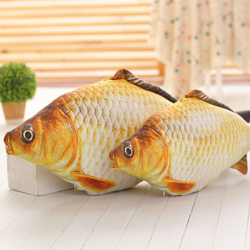 Decorative Cushion Small Fish Shape Throw Pillow Decorative Pillows Inner  Home Decor Sofa Toys No Zipper
