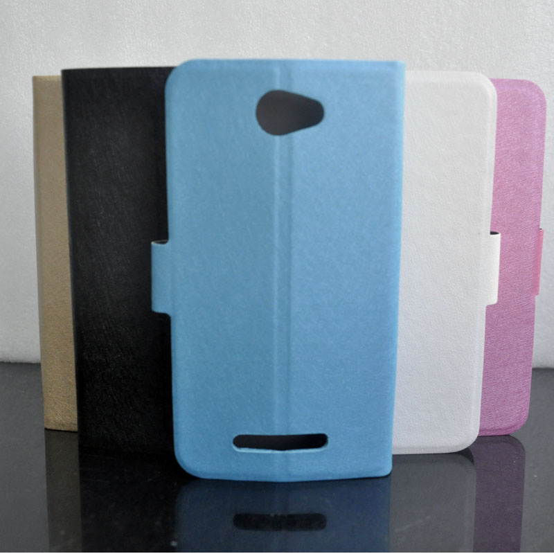 For BQ BQS-5070 Magic 5070 Case Silk Pattern PU Leather Fashion <font><b>Smartphone</b></font> Cover