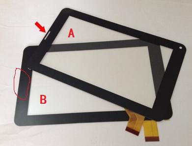 Novo original de 7 polegada tablet tela de toque capacitivo DP070003-F1.V1.0 frete grátis
