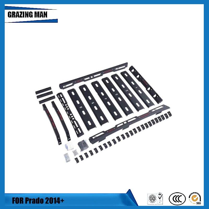 Car Luggage Carrier for Land Cruiser Prado 2010-2019 Roof Cross Bar for FJ150 Roof Basket thumbnail