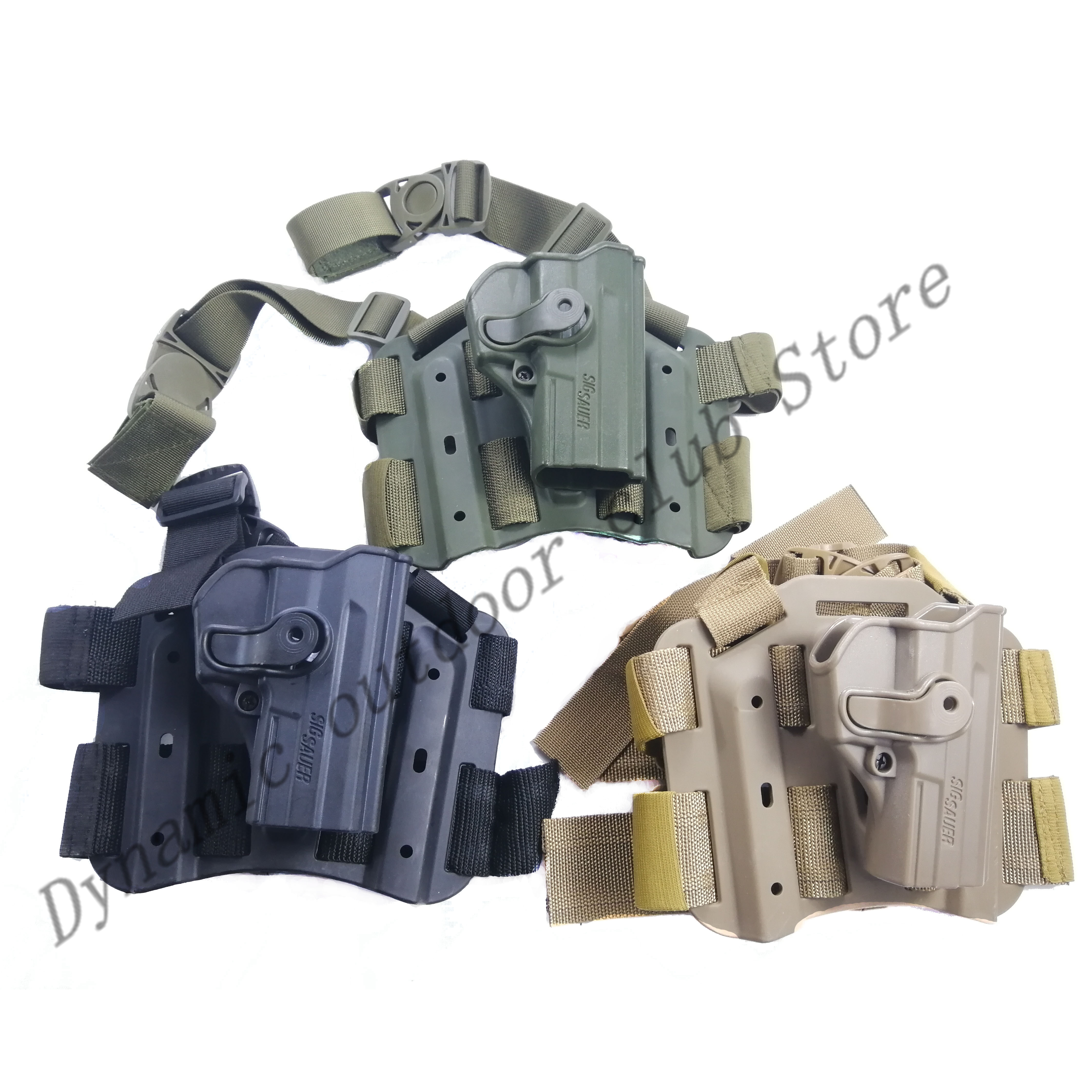 Pro Drop Leg Thigh Case For Tactical Pistol Sig Sauer SP2022 P220 P09 Military Weapons Airsoft Paint Hunt