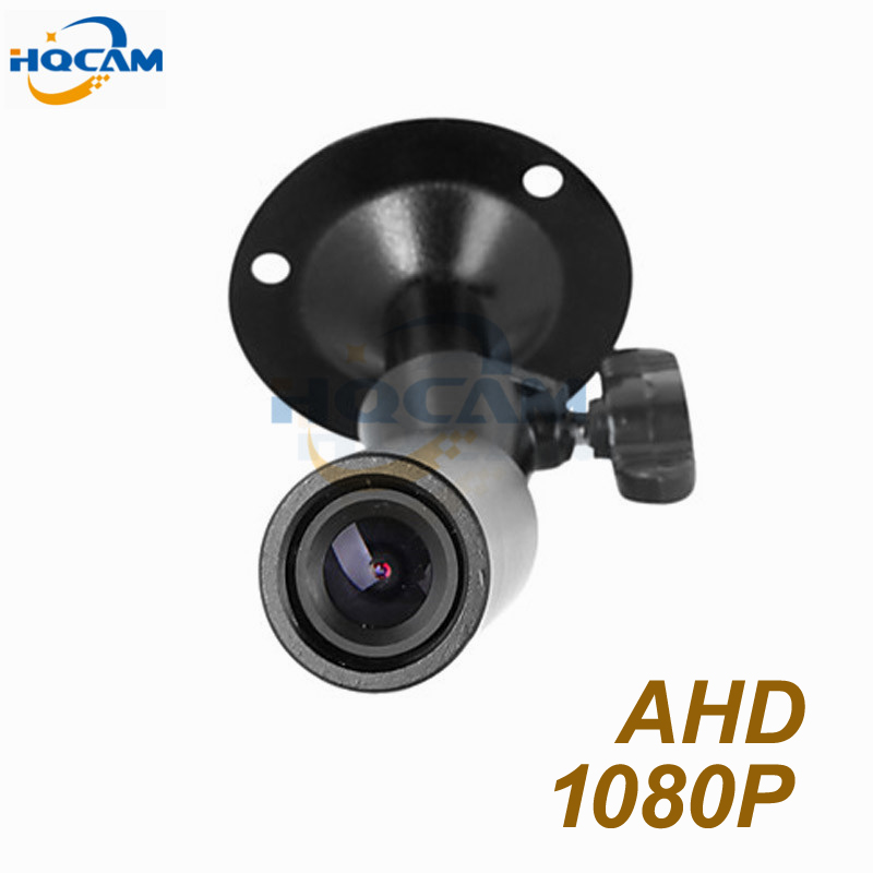 HQCAM Mini Bullet AHD Caméra 2000TVL Mini AHD caméra 1080 p 2.0 mégapixels CCTV caméra de sécurité intérieure AHD mini caméra ahd