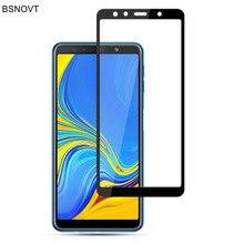 For Samsung Galaxy A7 2018 Glass Phone Screen Protector Tempered Glass For Samsung A7 2018 Glass For Samsung A7 2018 A750 BSNOVT набор цветных карандашей carioca tita 6 шт 174 мм