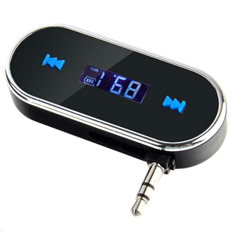 Mini Car SD LCD Remote Control FM FM Transmitter MP3 Music Player 3.5mm Audio Interface with USB Interface Wireless Car Kit 1 1 lcd car mp3 player fm transmitter with remote controller black 12 24v
