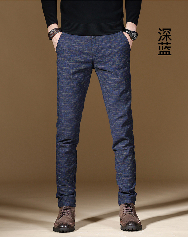 HTB1L0qfXRSD3KVjSZFqq6A4bpXaW 2019 Fashion High Quality Men Pants Spring Autumn Men Pants Trousers Male Classic Business Casual Trousers Full length