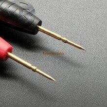 Измерительный щуп ручка 20A никелированный латунный PA нейлоновый корпус высокопрочный нейлон остроконечная головка