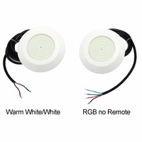 Surface Pool Light 9W 12Vdc Slim Wall Mounted Swimming Pool LED RGB Synchronous Warm White