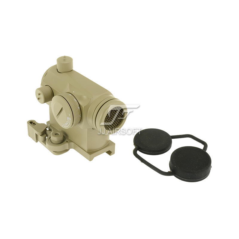 TARGET 1x24 Red Dot with QD Riser Mount & Killflash / Kill Flash (Tan) LT660, LT660HK or LT661