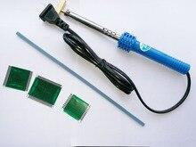 5 bộ LCD Display Cho Mercedes Cho Benz Pixel Công Cụ Sửa Chữa Ribbon Cable W210 W202 W208/1 cái Hàn Sắt Hàn Gun T tip