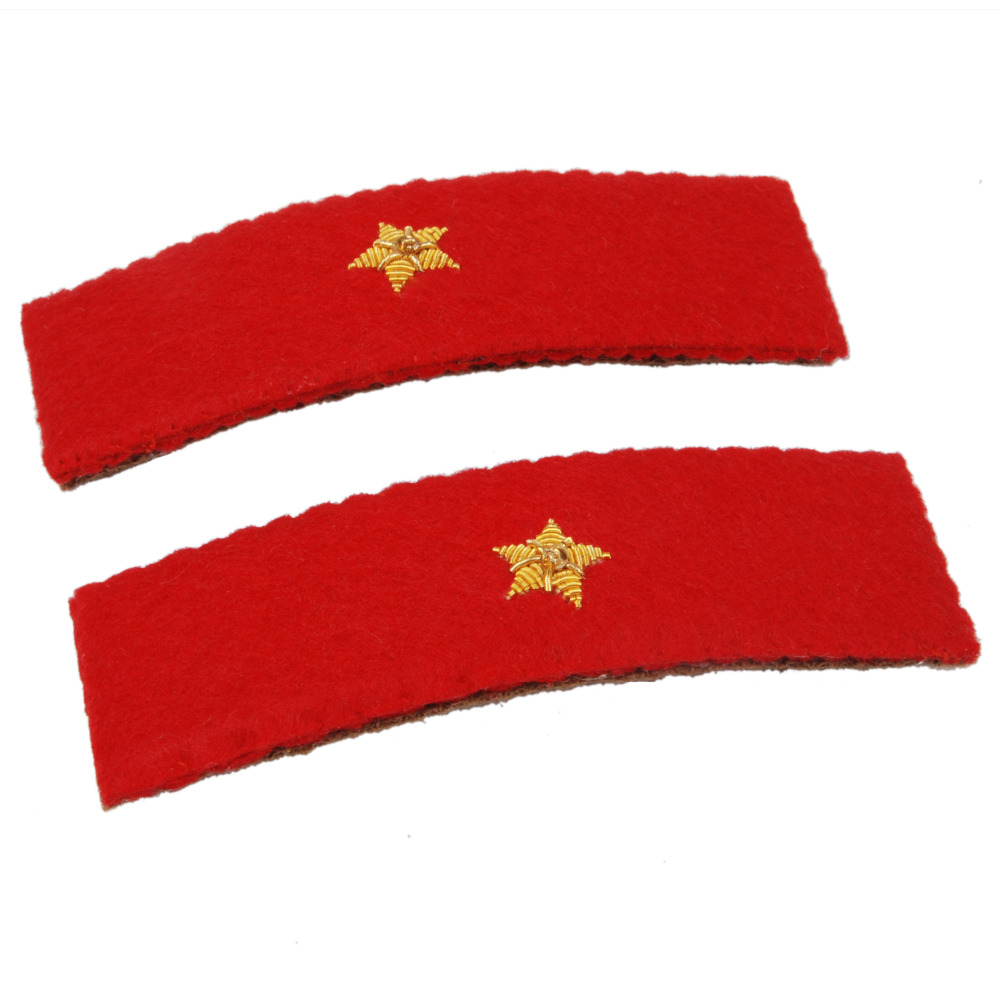 WWII IMPERIAL JAPANESE ARMY PRIVATE SHOULDER BOARDS-35664