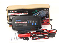 USA Canada Japan 12V 2A 4A 8A 7 Stage Smart Battery Charger GEL WET AGM Battery