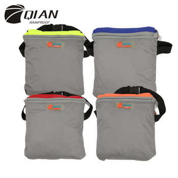 QIAN Impermeable Raincoat Women/Men Outdoor Rain Poncho Backpack Reflective Design Cycling Climbing Hiking Travel Rain Cover