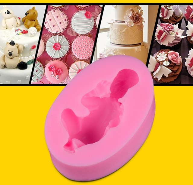 3D Sleep baby handmade Silicone soap mold chocolate cake Baking decorating tools DIY cookies fondant silicone mold mould