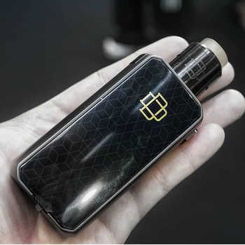 Augvape Druga Foxy Mod Electronic Cigarette Quick Release Button 150W 18650 Battery Zinc Alloy Switchable IML Panels Mod Vape