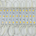 Водонепроницамые 3-х диодные модули, для освещения номерного знака. Диоды 5630 питание 12В. Партия 20 модулей.  Холодный белый / теплый белый / синий / красный
