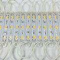 20 PCS 5630 3 CONDUZIU a iluminação Do Módulo para o sinal DC12V Impermeável superbright smd módulos de led Cool white/branco Quente/cor azul/Vermelho