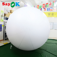 Advertising Helium Blimp Inflatable Helium Balloon, Inflatable Zeppelin Helium Balloon for Event, Promotion