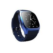 Kostenloser versand Neues Smart Uhr Smartwatch M26 mit Dial Alarm Barometer Musik-player Schrittzähler für Android Handy update U8