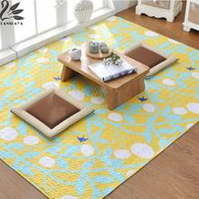 Best Price 2017 Sale Rugs Rugs And Carpets Alfombra Lanskaya Quilted Tatami Mat Carpet 100% Cotton Ground For Peace Yoga Baby Crawls Rug