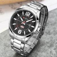 CURREN Men S Quartz Watches Top Brand Luxury Men Casual Sports Watch Man Multifunction Clock Male