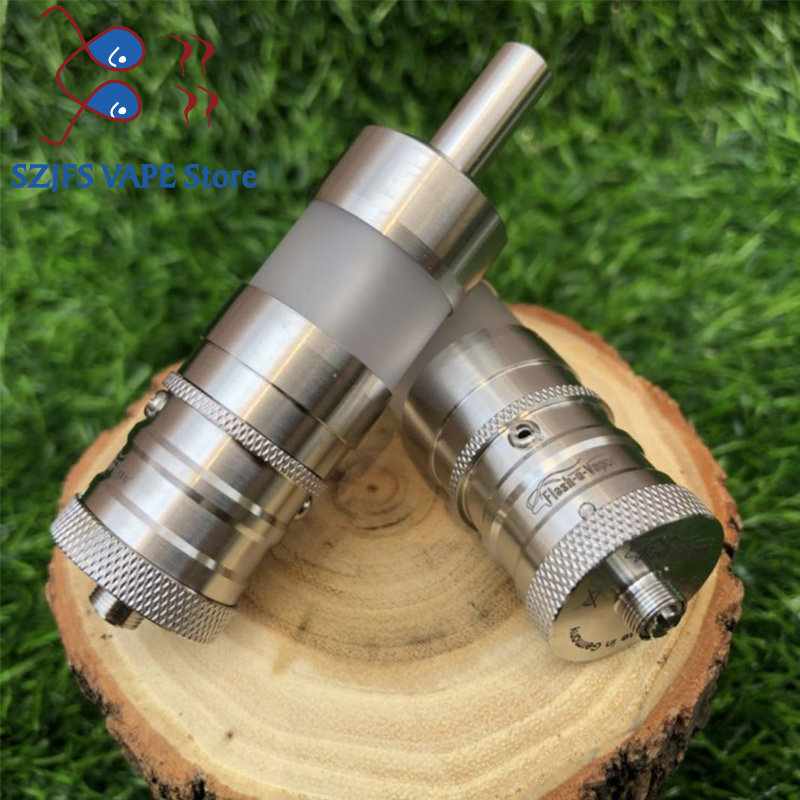 Newest Flash E Vapor V4.5 RTA 6ML Capability Rebuildable Tank Atomizer 316 Stainless Steel Diameter 23MM Vape Vaporizer Mtl Rta