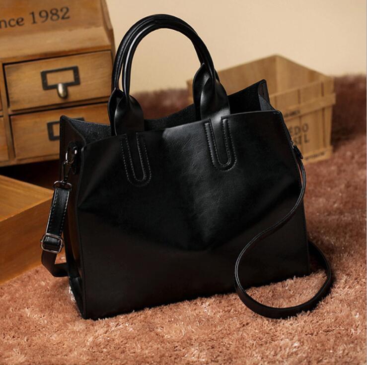 Bag Americano Delle Semplice E Singola Modo grey Spalla Stile Donne brown red 101816 pink Europeo Yesetn Borsa Tote Di Black qS6FF8