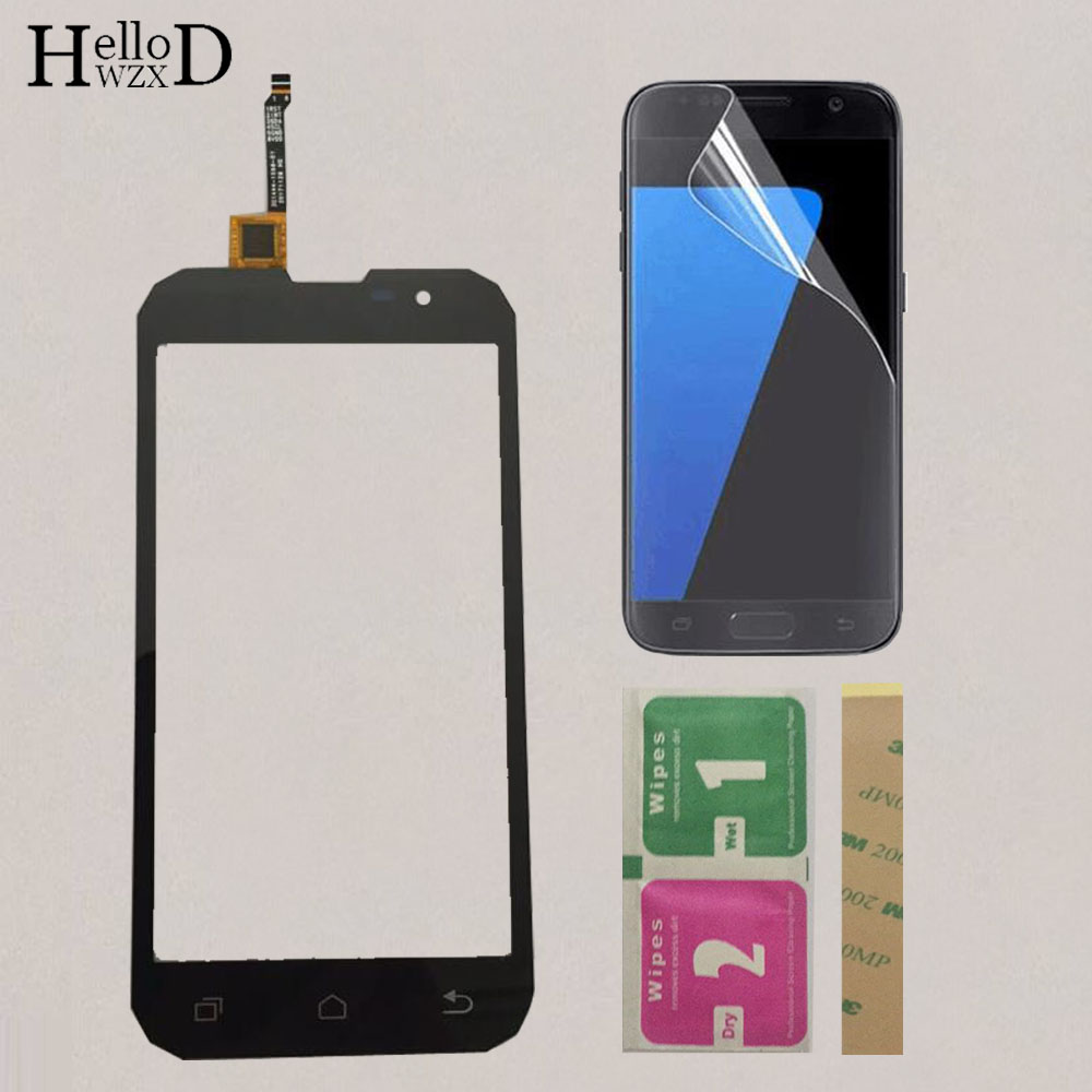5.0'' Mobile Touchscreen Front Touch Screen For Geotel G1 3G Touch Screen Glass Digitizer Sensor Touchpad + Protector Film